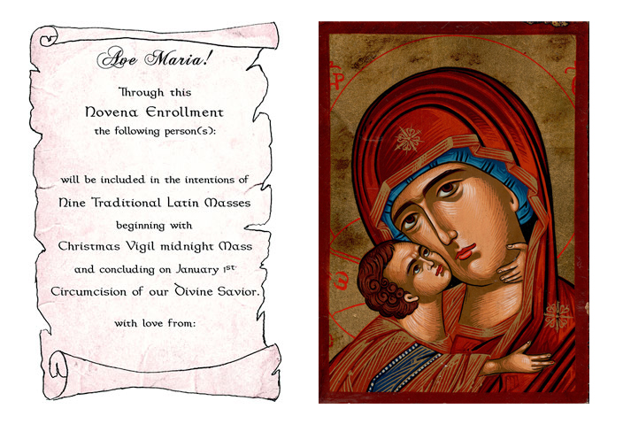 Christmas Novena of Latin Masses