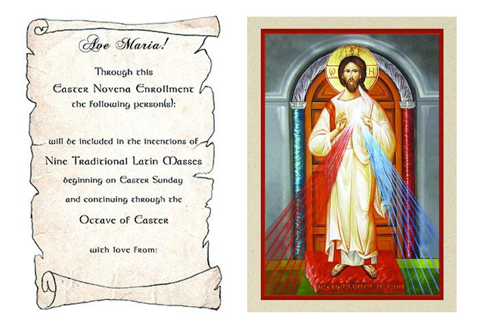 Easter Novena of Latin Masses
