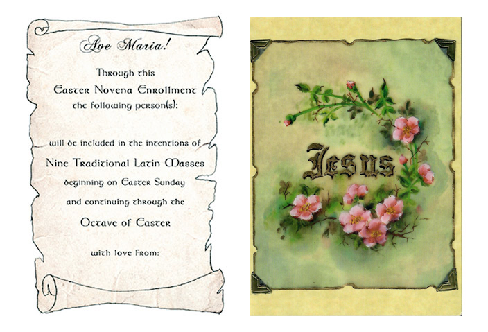 Easter Novena of Latin Masses